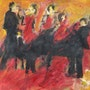 The jazz orchestra. Jacques Donneaud