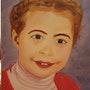 Portrait d'une enfant de 8 ans.