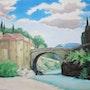 Le pont Romain à Vaison-la-Romaine.