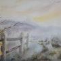 Brouillard d'été. Albert Blanchet