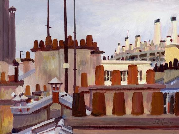 Toits de Montmartre. Franck-Bernard Gaulier Franck-Bernard Gaulier