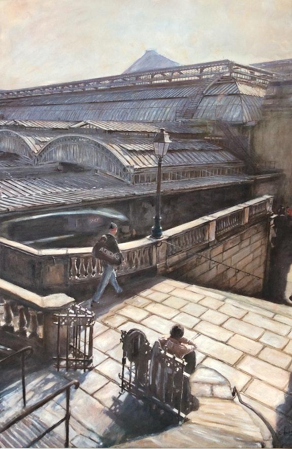 Gare de l'Est Paris. Chevreau Christophe Christophe Chevreau