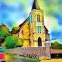 L'église de Bouffry. G; Ardelâme