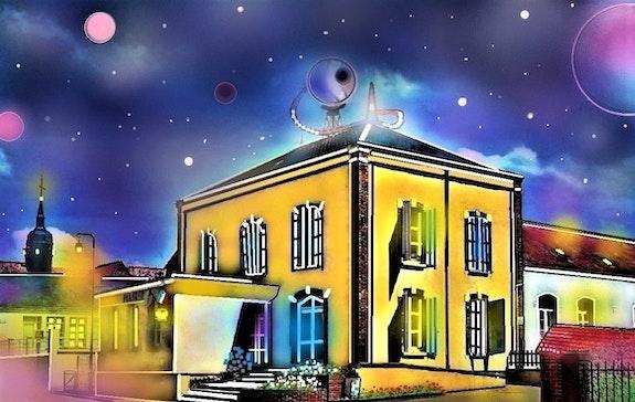 La mairie de Châtillon en Dunois. G. Ardelâme G; Ardelâme