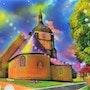 L'église de Choue. G; Ardelâme