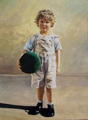 Portrait de Léo.