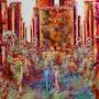 Prédiction… Thème Urbain. Anne Sophie Artiste Peintre Nantes