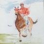 Le bonheur du jockey.