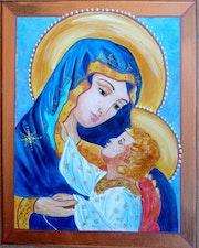 Marie et jesus.