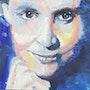 Série «Portrait de Femmes» : Elsa Triolet. Véroniq' S