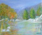 Le lac aux cygnes.