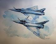 Mirage 2000c 1/12 & 2/12.