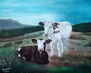 Les deux vaches.