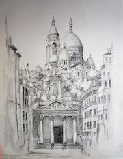 Notre Dame de Lorette et sacrée Coeur Paris.