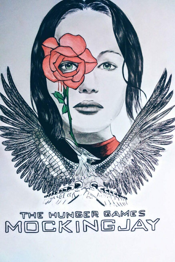 The hunger games.  Judith Drew