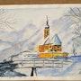 Winter in the mountains. Saule Abdramanova