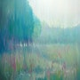 Large original Oil Painting - Ageless Meadow - a Sussex field in June.