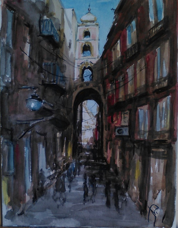 Naples. Lidia Lidia