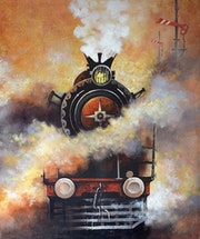 Nostalgia of Steam Locomotives 02.