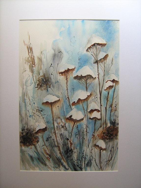 Champignons de neige. Danièle Jondeau Dany