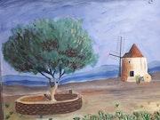 Le Moulin d'Alfonse daudet.