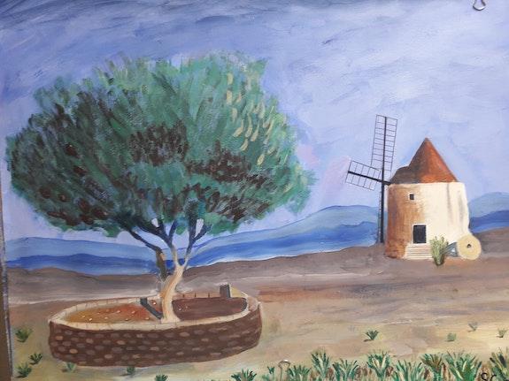 Le Moulin d'Alfonse daudet. Sandrine G Sandrine G