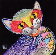 Asian cat.