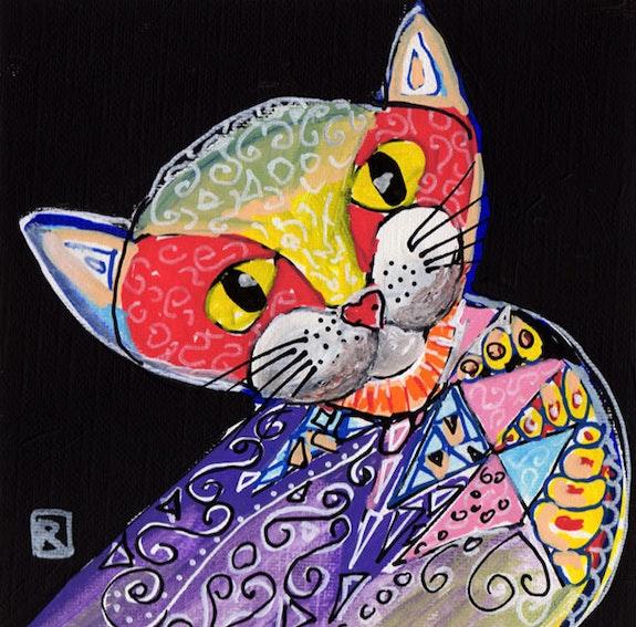 Asian cat. Relindis Relindis