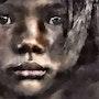 L'enfant noir. Marie Carteron