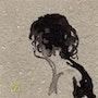 Cheveux mouillés. Serge Mogère