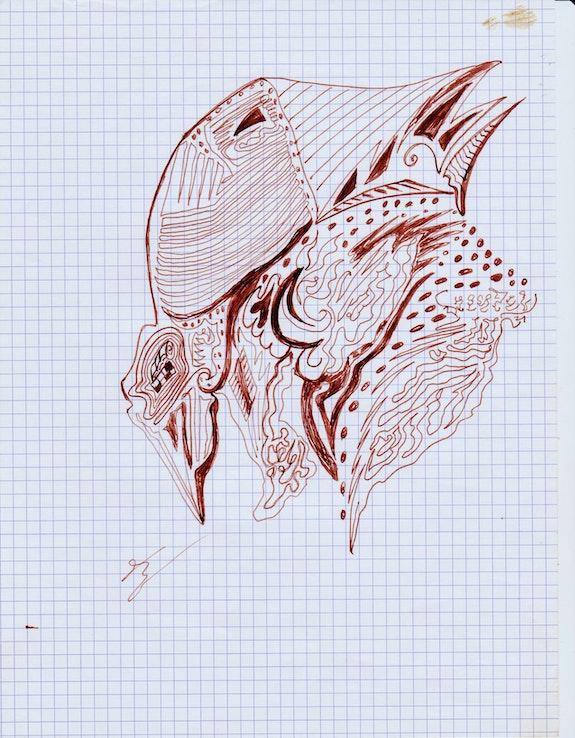 Lettre 2009, e. Am Sampeur Plasticienne/ Am Sampeur