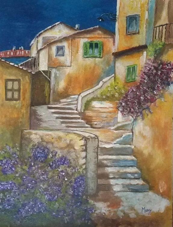 Una vista con escaleras. Marianna Francesca Carboni Mary