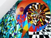 Composition murale.