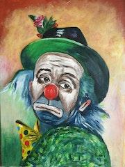 The clown. Mary