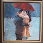 Kissing in the rain.. Bert Veenema