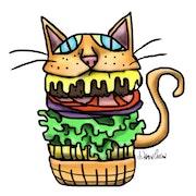 Cat Food. Gilded Lite