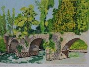 Pont Gallo-Romain près de Nantes.