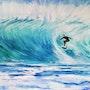 Surfer sur la Vague. Mimi