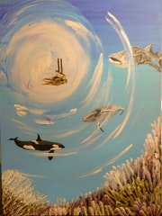 Monde des mers. Mireille Vast