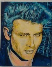 James Dean en 3 couleurs.
