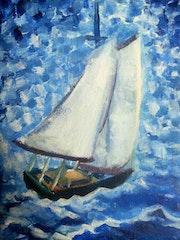 Little boat. Jose Faedda
