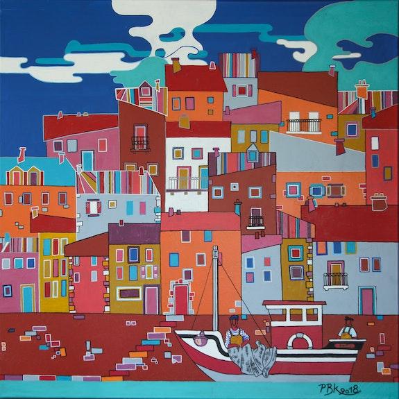 Le petit port de Pêche. Patrick Beblik Pbk