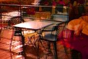 Les tables sont dressées. Marie Carteron