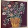 Pot de fleurs. Assia Ddarai