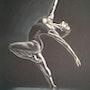 Danseuse contemporaine. Alain Devred