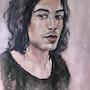 Portrait de jeune homme. Magali Roux Roche
