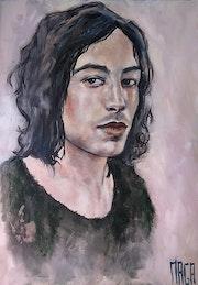 Portrait de jeune homme.