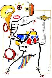 Ré Création 18 «Mr Tambourine Man».