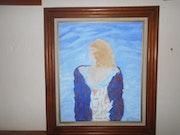 La femme dans les nuages. Jeanlouis Briançon
