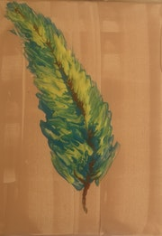 The Feather. Forest Art